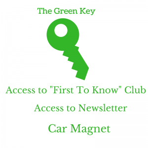 Green Key with Access (1)