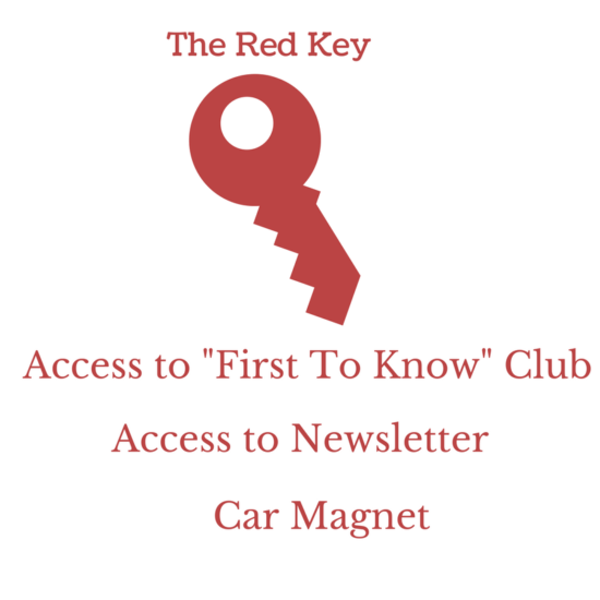 Red Key with Data
