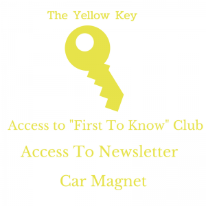 Yellow Key with Data